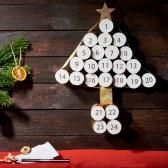 Netradiční adventní kalendář s úkoly pro celou rodinu |Vytvořte si kouzelné Vánoce
