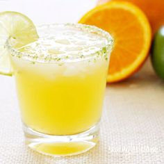 Weight watchers citrus margarita spritzer Servings: 1 • Serving Size: 1 margarita • Points+: 5 pts  Calories: 137.1 • Fat: 0.2 g • Protein: 0.6 g • Carb: 12.1 g • Fiber: 0.2 g • Sugar: 9.3 g Sodium: 13.7 mg   Ingredients:  1 oz clear tequila 1/2 oz Contreau (or Grand Marnier) 1/4 cup fresh squeezed orange juice 1/2 lime (2 tbsp) fresh lime juice 1/4 cup seltzer/club soda crushed ice  Directions: Combine the tequila, orange liquor, fresh squeezed orange juice, and fresh squeezed lime juice…