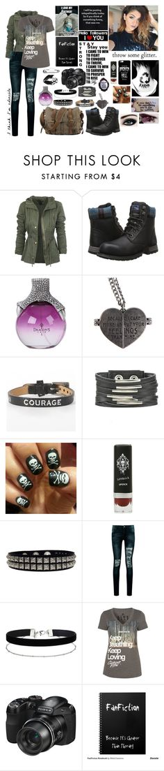 """""""Throw some glitter"""" by lost-in-the-music ❤ liked on Polyvore featuring Möve, Caterpillar, Good Works, Boohoo, Miss Selfridge, Glamour Kills and CO"""