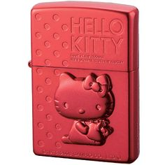 ZIPPO Hello Kitty ~ WANT!!!! I don't even smoke anymore. But I waaant this! ;-D