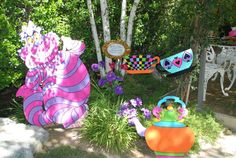 Alice in Wonderland, Mad Tea Party Birthday Party Ideas | Photo 20 of 53 | Catch My Party