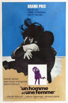 A Man and a Woman (French) 11x17 Movie Poster (1966)