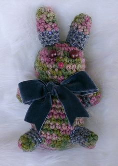 """NEW PATTERN: Bitty Bunny Amigurumi Toy 
