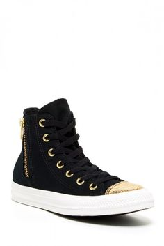 Chuck Taylor Side Zip High Top Sneaker