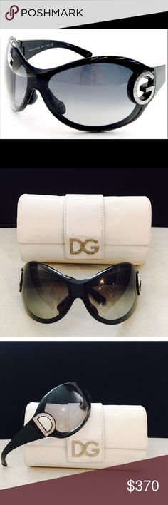 Dolce & Gabbana Sunglasses  (100% Authentic) Dolce & Gabbana sunglasses Eyewear comes with its original case. Made in Italy and therefore you can assured of the highest standards of quality. Color is Black/ Natural. Dolce & Gabbana eyewear is also ultimate gift of luxury for the very special person in your life Dolce & Gabbana Accessories Sunglasses