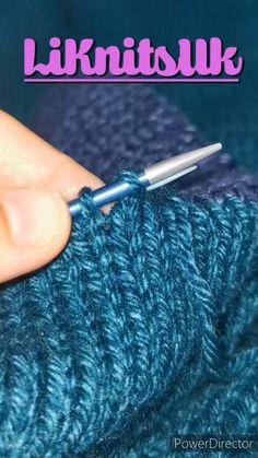 Casting Off Knitting, Knitting Help, Knitting Videos, Easy Knitting, Circular Knitting Needles, Knitting Basics, Sweater Knitting Patterns, Knitting Designs, Crochet Patterns