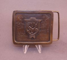 1977 Old Style Beer belt buckle by Indiana Metal Craft available at our eBay store! $25
