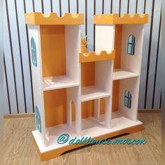 """Купить Стеллаж в стиле """"Замок"""". Кукольный домик в интернет магазине на Ярмарке Мастеров"""
