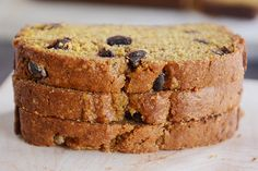 Pumpkin Chocolate Chip Bread. Didn't like as much with milk chocolate chips (obviously).