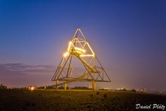 Tetraeder Bottrop, my favorite sight seeing in the Ruhrgebiet in Nordrhine Westphalia, Germany. Amazing view on top of it, best at sunrise or sunset in summer with a person you wanna share a great moment. Beware of the fireflights and rabbits! ;)