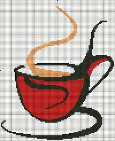 Stylowa kolekcja inspiracji z kategorii Hobby Blackwork Embroidery, Cross Stitch Embroidery, Embroidery Patterns, Cross Stitch Patterns, Cross Stitch Kitchen, Cross Stitch Heart, Modern Cross Stitch, Cross Stitch Silhouette, Graph Paper Art