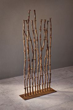 Railwort is a contemporary sculpture made of authentic railroad spikes by Phoenix sculptor Kevin Caron. It was stolen in Massachusetts - please contact us if you have seen it!