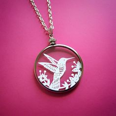 Paper Cut Jewelry by Sarah Trumbauer