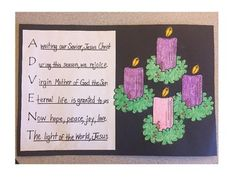 Students write an Acrostic Poem about Advent. Flames can be added each week as you progress through the weeks of Advent. Thank you so much for purchasing this product. I hope that you enjoy it as much as I do! Christmas Bulletin Boards, Christmas Classroom Door, Preschool Christmas, Christmas Crafts For Kids, Christmas Art, Christmas Tables, Nordic Christmas, Modern Christmas, Advent Activities
