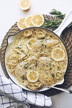 #chicken #chickenrecipes #dinner #lemon #pasta