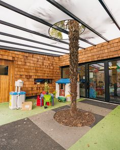 indoor-outdoor Cedar Shingles, Dream School, Croydon, Red Bricks, Learning Environments, Classroom Design, School Design, Landscape Architecture, Architecture Design