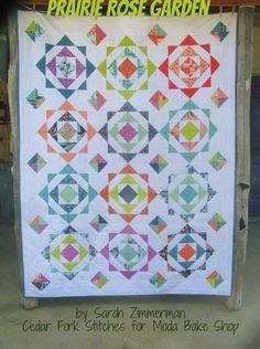 Prairie Rose Garden Quilt « Moda Bake Shop