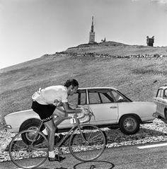 Eddy Mercx on the Ventoux