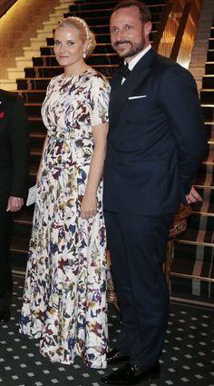 NewMyRoyals:   Nobel Peace Prize Banquet, Oslo, Norway, December 10, 2016-Crown Princess Mette-Marit and Crown Prince Haakon