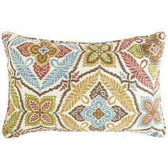 Kaleidoscope Lumbar Pillow  Pier One