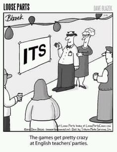 One to make the English teachers smile... pin the apostrophe on the it's