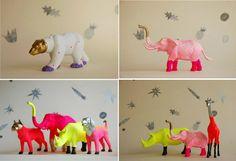 Amped+Dangerous: DIY DECEMBER // CHEAP & EASY USING $1 STORE PLASTIC ANIMALS