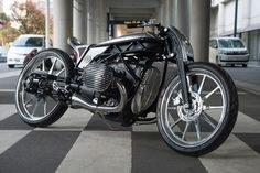 BMW Motorrad has been collaborating with custom builders since the introduction of their Heritage range. This is the first time they've invited one to build a bike around a concept engine though. Ducati Diavel, Ducati Scrambler, Motos Bmw, Bmw Motorcycles, Custom Motorcycles, Custom Bikes, Ford Gt, Ford Mustang, Moto Guzzi California