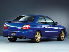 Subaru Impreza WRX STi (2001 – 2002).