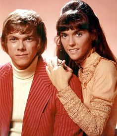 The Carpenters (1970s) Richard & Karen Carpenter...i actually sang with them at the louisville gardens in the 7th grade