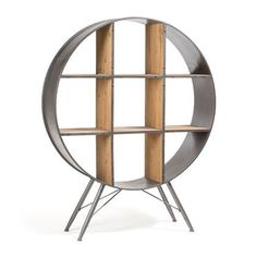 Black Felka Round Shelf Unit by Linea Furniture. Get it now or find more Bookcases & Shelving Units at Temple & Webster. Wooden Shelves, Shelving, French Furniture, Cool Furniture, Furniture Outlet, Furniture Stores, Luxury Furniture, Furniture Design, Home