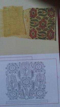 Gallery.ru / Фото #67 - ξηξκ - ergoxeiro Learn Embroidery, Crewel Embroidery, Cross Stitch Embroidery, Embroidery Patterns, Palestinian Embroidery, Brazilian Embroidery, Mural Painting, Embroidery Techniques, Rug Hooking