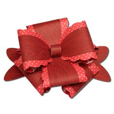 Bits of Paper: Large Ruffled Package Bow