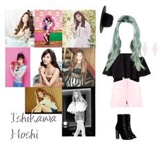 """Ishikawa Hoshi Photoshoot and Profile"" by official-uniqua on Polyvore featuring art"
