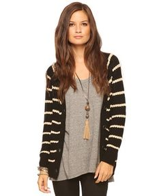 I love cardigans so much I'd wear them as pants if I could.