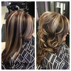 .check these highlights @Amanda Snelson Garré okay this is exactly what i wanna do with the brown this week!