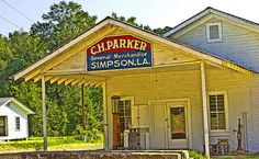 Parker's Place, Simpson LA. The conversation's that happened here I wish I had recorded.