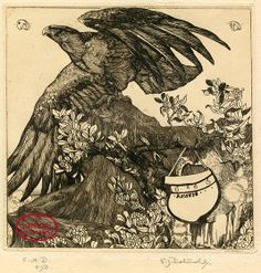 Eagle, 1902 - Edward Julius Detmold