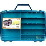 Plano Two Level Satchel Tackle Box: The sleek styling of the 1155 tackle Satchel sports a clear duraview lids for quick access to your Baits in this two-tiered storage box. Fishing Tackle Box, Fishing Tools, Fly Fishing, All The Small Things, Tool Organization, Organizing, Storage Containers, Storage Solutions