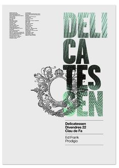 Poster by MARIN DSGN, via Flickr, via graphic design layout, identity systems and great type lock-ups.