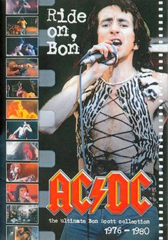 AC/DC 80s Music, Folk Music, Music Love, Bon Scott, Woodstock, Hard Rock, Rock Bands, Thunder From Down Under, Malcolm Young