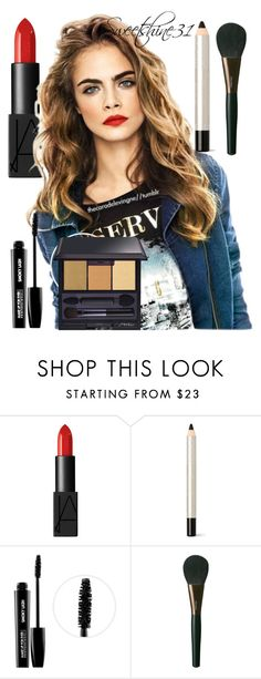 """""""makeup"""" by sweetshine31 ❤ liked on Polyvore featuring beauty, NARS Cosmetics, Christian Dior, MAKE UP FOR EVER and Shiseido"""