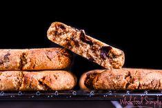 4 Ingredient Choc Chip Cookies ~ Wholefood Simply