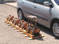 Wooden Toys, Car, Trunks, Wood Toys, Automobile, Woodworking Toys, Cars, Autos