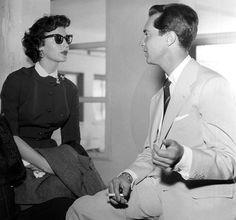 Ava Gardner y Luis Miguel Dominguín, durante su idilio en 1954.