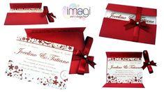 convite de casamento vermelho 4