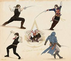 Assassins Creed Series, Assassins Creed Unity, Assassins Creed Origins, Assasing Creed, All Assassin's Creed, Arno Victor Dorian, Rome, Poses References, Disney And Dreamworks