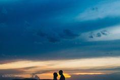 Fotografia Casamento | Carolina e André | Quinta da Cantareira | São Paulo - SP - Fotos por Ale Borges - Por do Sol