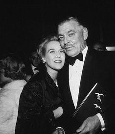 Clark Gable and Kay Williams, 1958