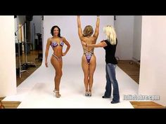 Figure Posing - How to Flare Your Lats