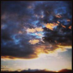 Sunset in Helena montana I've snapped